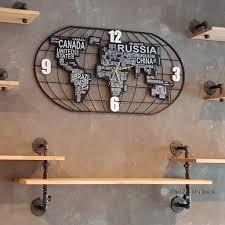 นาฬิกาแขนผนัง Big World MAP 01