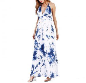 ชุดเดรสผู้หญิง Boho Long Dress