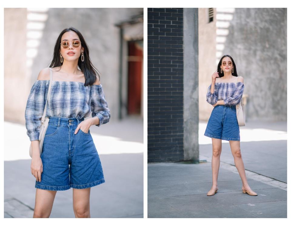กางเกงยีนส์ขาสั้นผู้หญิง รุ่น Sis028