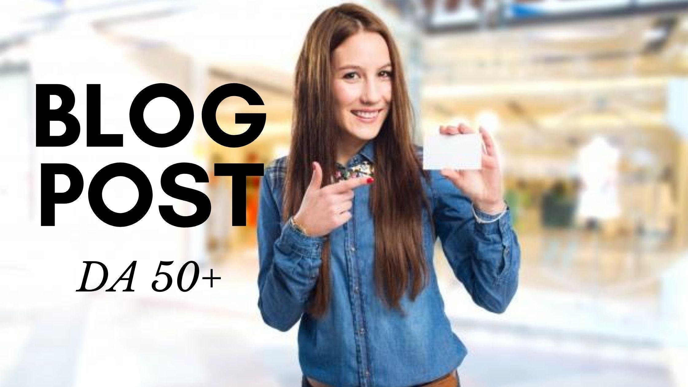 รับโพสเว็บ รับทำ Guest Post เว็บแรง DA50+