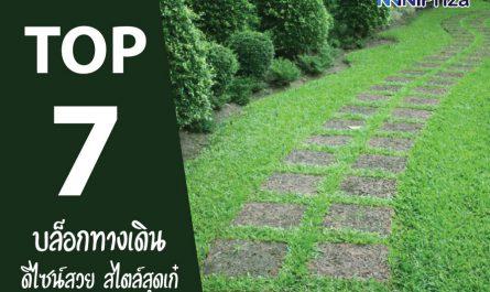 7 อันดับ บล็อกทางเดินในสวน ดีไซน์สวย สไตล์เก๋ๆ ปี 2021