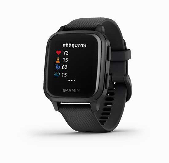 นาฬิกา Garmin Venu Sq นาฬิกา GPS Smartwatch ราคาล่าสุด ปี 2021