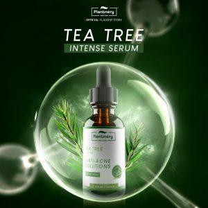 เซรั่ม ที ทรี เข้มข้น Plantnery Tea Tree Intense Serum 30 ml สูตรช่วยลดสิว