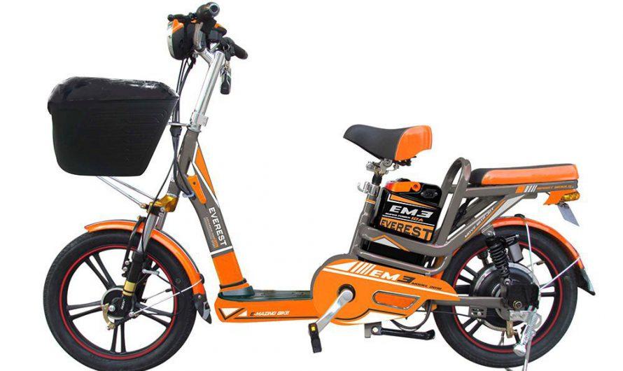 จักรยานไฟฟ้า รุ่น EM3 ดีไหม ทำไมต้องเป็น EM3