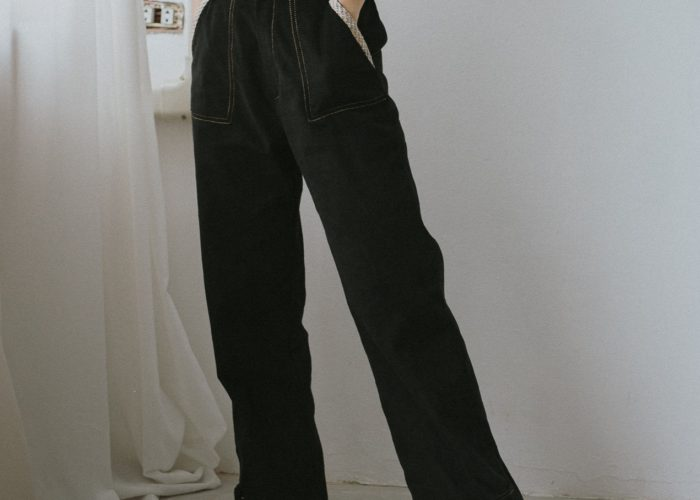 เสื้อผ้าวินเทจ แนวฮิปสเตอร์ กางเกงผ้าลูกฟูก