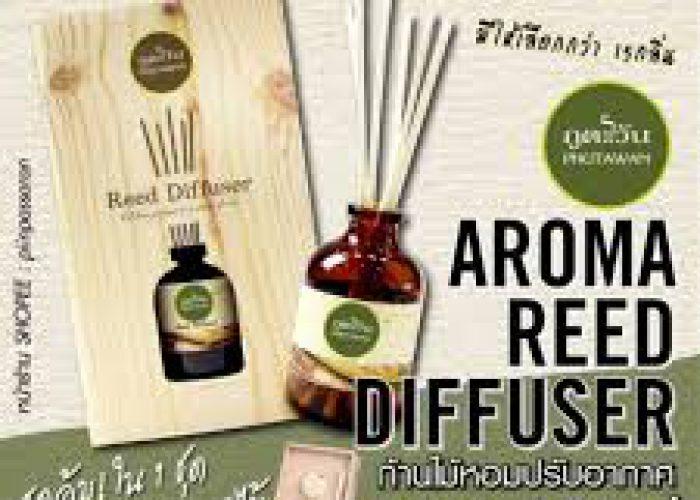 ก้านไม้หอมปรับอากาศ 100 ml Aroma Reed Diffuser