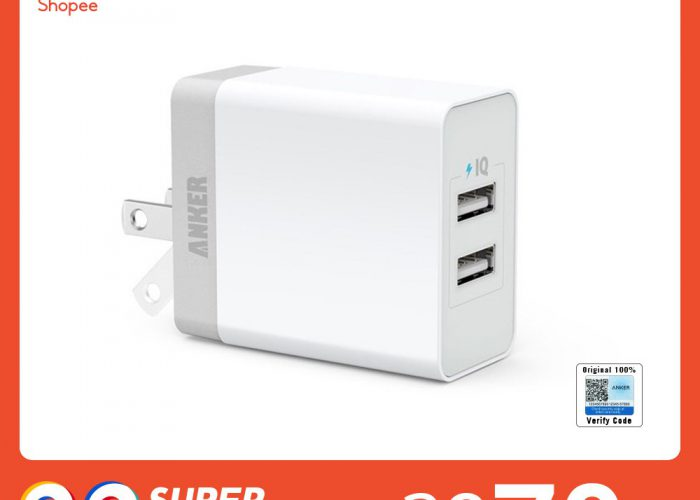Anker PowerPort 2 Lite Adapter