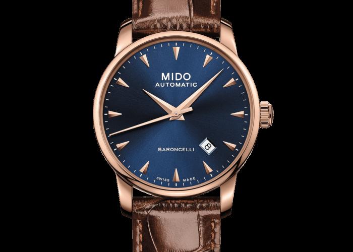 นาฬิกามิโดแท้ รุ่น Baroncelli Midnight Blue