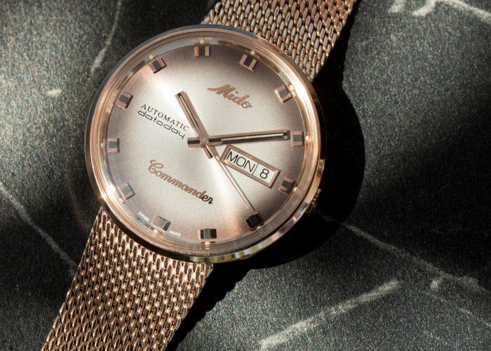 นาฬิกามิโดแท้ รุ่น COMMANDER SHADE