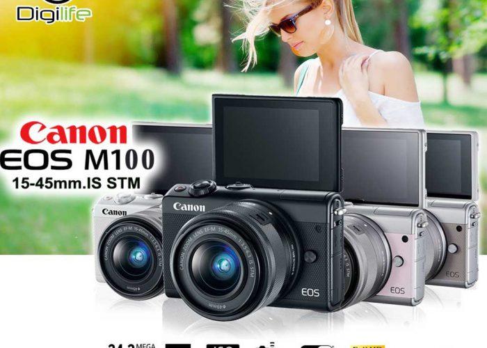 กล้องถ่ายรูป ราคาไม่เกิน 15000 รุ่น Canon Camera EOS M100