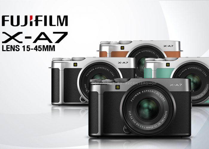 กล้องถ่ายรูปฟรุ้งฟริ้ง รุ่น Fujifilm Camera X-A7 Kit
