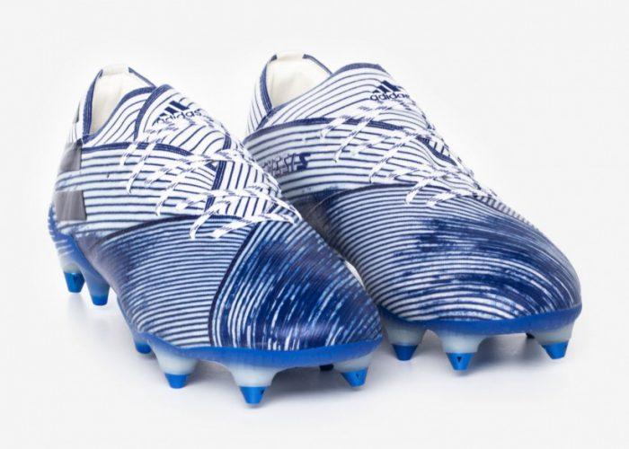 รองเท้าสตั๊ด Adidas ผู้ชาย รุ่น Nemeziz 19.1 Firm Ground
