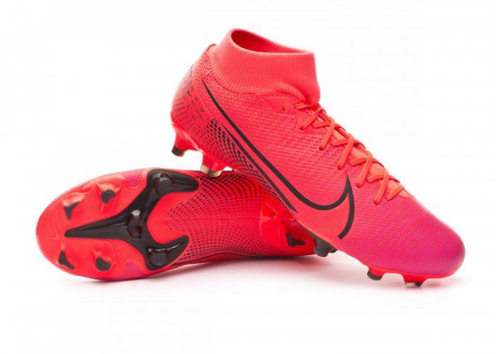 รองเท้าสตั๊ด Nike ตัวท็อป รุ่น Mercurial Superfly 7 Academy FG/MG