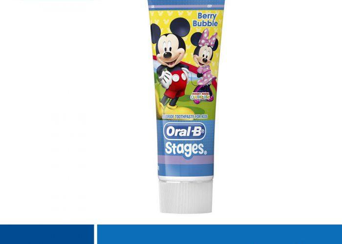 ยาสีฟันเด็ก ยี่ห้อ Oral-B