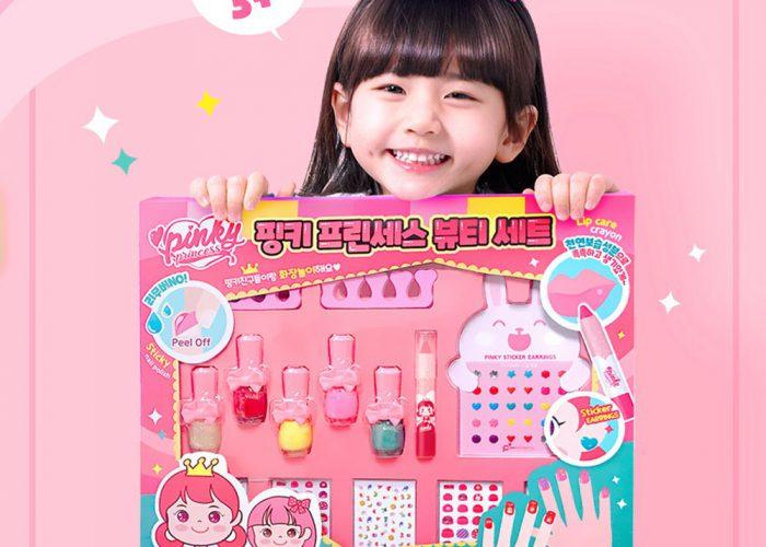 น้ำยาทาเล็กเด็ก ยี่ห้อ Pink Princess