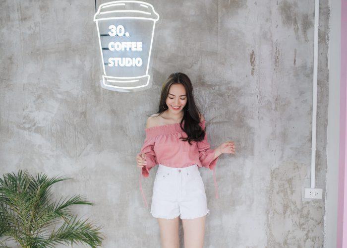 กางเกงยีนส์ขาสั้นผู้หญิง รุ่น Sis017